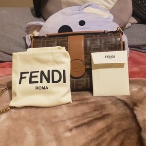 Fendi ff womens shoulder bag